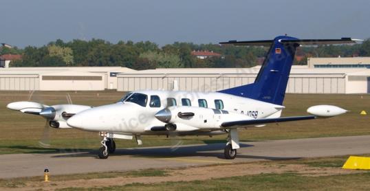 Turboprop Visual Flight Rating, Turboprop VFR, Piper Cheyenne III A